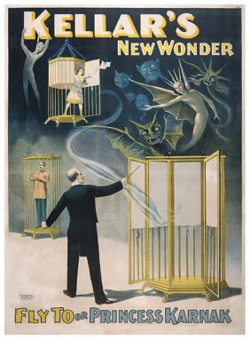 Kellar, Harry (heinrich Keller).kellar's New Wonder.