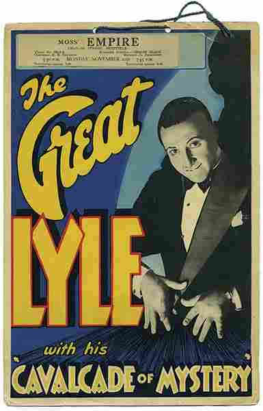 Lyle, Cecil. The Great Lyle with his Cavalcade of