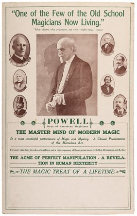 Powell, Frederick Eugene. Powell. Dean Of American