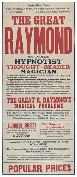 Raymond (raymond Morris Saunders).the Great