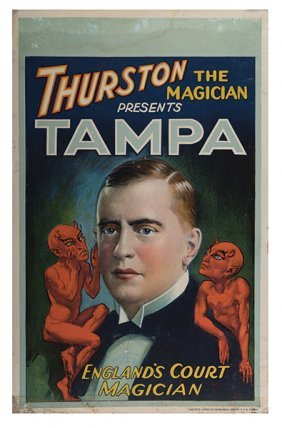 Tampa (ray Sugden). Thurston The Magician Presents