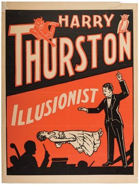 Thurston, Harry. Harry Thurston. Illusionist. American,