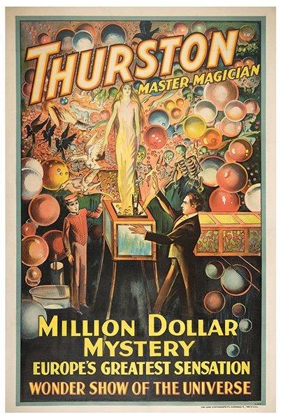 Thurston, Howard.   Thurston Master Magician. Million