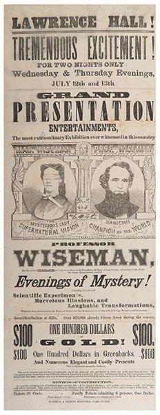 Wiseman, Professor. Professor Wiseman Evenings Of