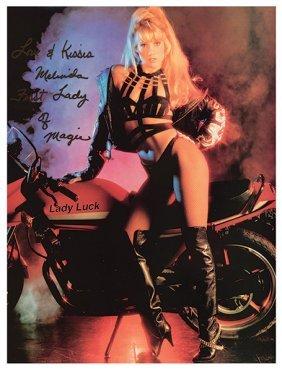 Melinda (melinda Saxe). Two Melinda Magic Posters. [las