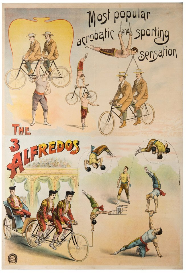 The Three Alfredos. Most Popular Acrobatic and Sporting