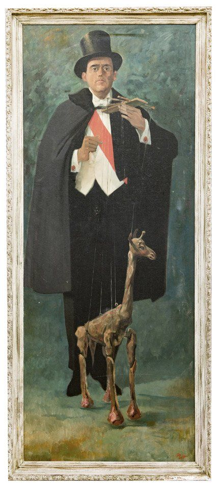 Putman, Donald (American, 1926 – 2007). Portrait of