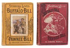 Two Biographies of Buffalo Bill and Pawnee Bill.