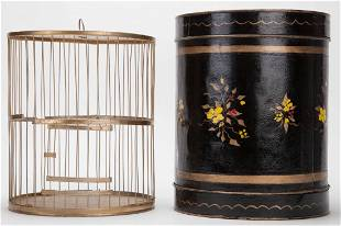Cage Transformation. European, ca. 1900. Objects placed