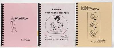 Fulves, Karl. Group of Five Technique Books on Card