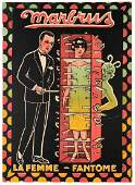 Marbrus Marbrus La Femme Fantme Paris ca 1920