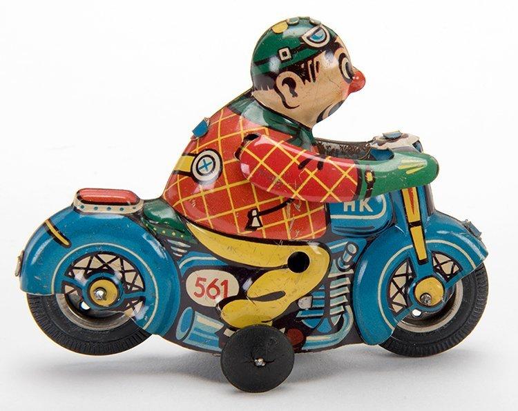 Flip-Over Motorcycle. Germany: Huki, mid-twentieth