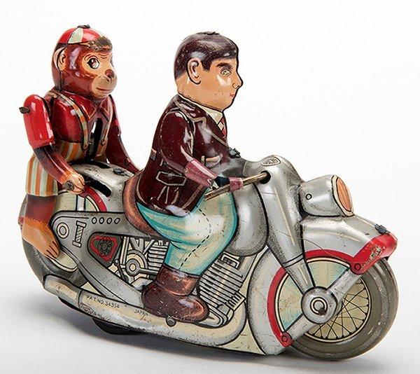 Jumping Monkey Motorcycle. Japan: Kanto Toys,