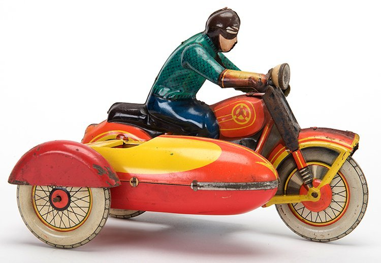 Motorcycle and Sidecar. Russian, mid-twentieth century.