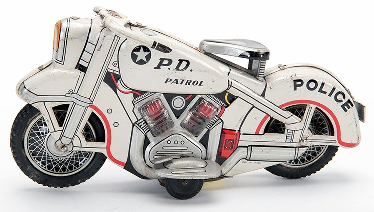 P.D. Patrol Motorcycle. Japan, mid-twentieth century.
