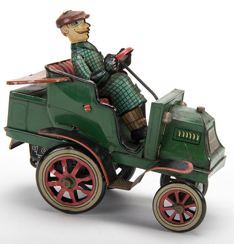 Red and Green Buggy. Japan: Linemar Toys, mid-twentieth