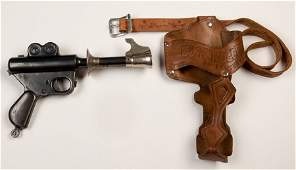 Buck Rogers XZ-31 Rocket Pistol with Holster. Plymouth,