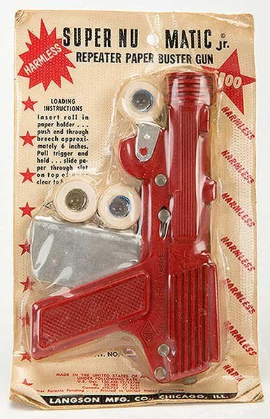 Super Nu-Matic Jr. Repeater Paper Buster Gun. Chicago: