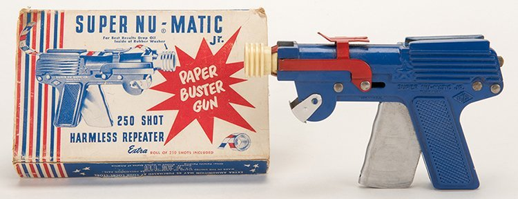 Super Nu-Matic Jr. Paper Buster Gun. United States: LM