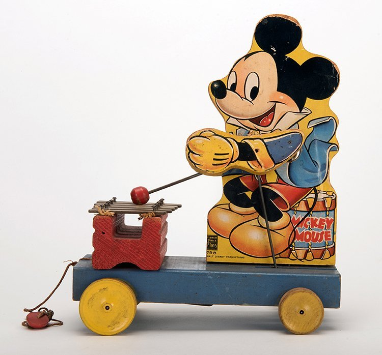 Mickey Mouse Xylophone Pull Toy. New York: Fisher