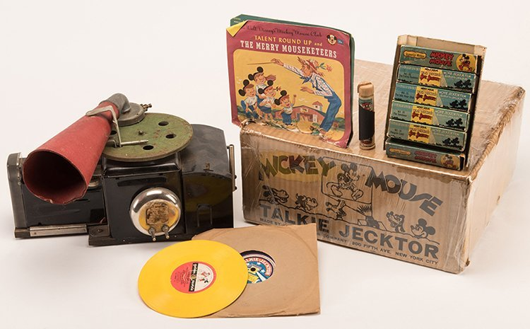 Disney's Mickey Mouse Talkie Jecktor and Accessories.