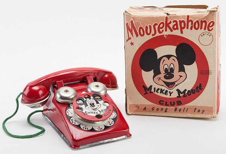 Mickey Mouse Club Mousekaphone. Connecticut: Gong Bell