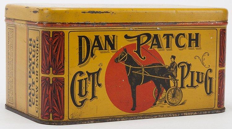 Dan Patch Cut Plug Tobacco Tin. Detroit, Dillon Co.,