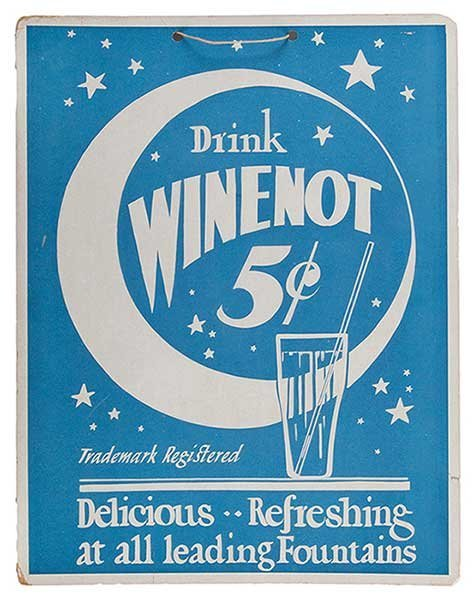 Two Vintage Advertising Signs. Including a Drink - 2