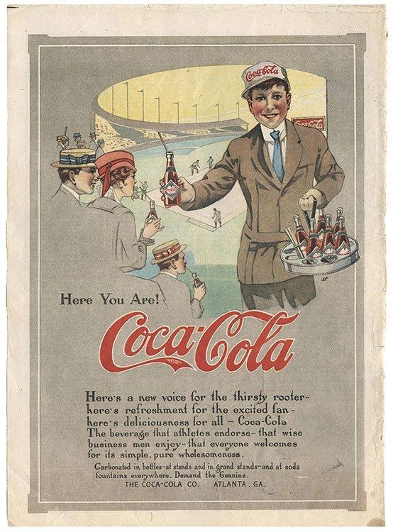 Eight Coca-Cola Magazine Advertisements. Three in