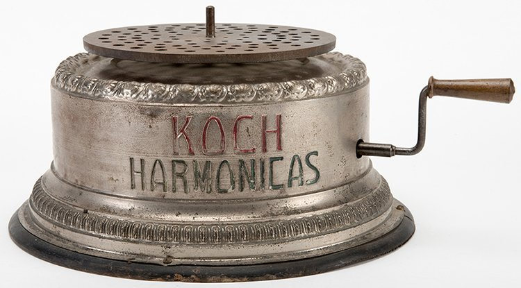 Counter/Window Display Stand for Koch Harmonicas with