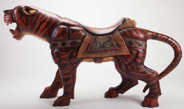 Large Carousel Roaring Lion Figure. Manufacturer - 2