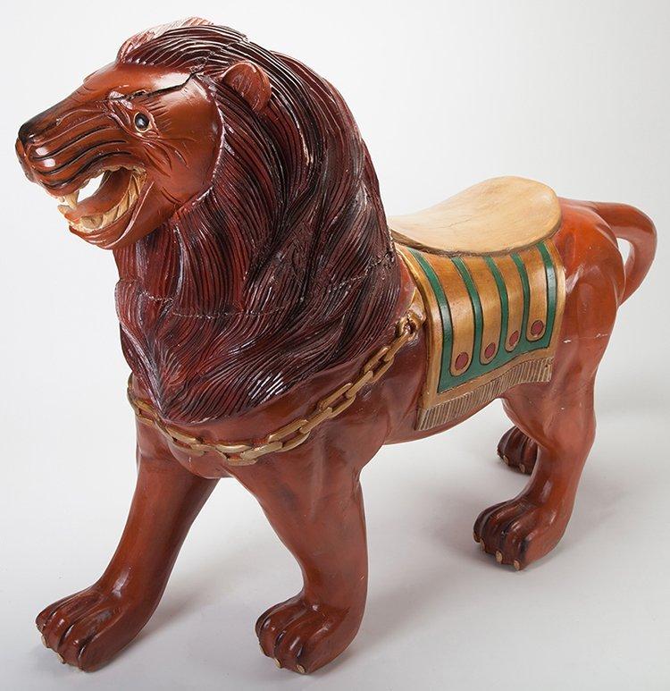 Large Carousel Tiger Figure. Manufacturer unknown,