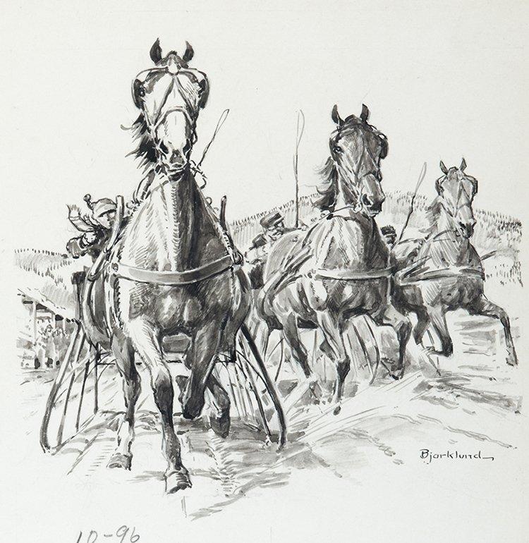 Bjorklund, Lorence (American, 1913-1978) The Cutter