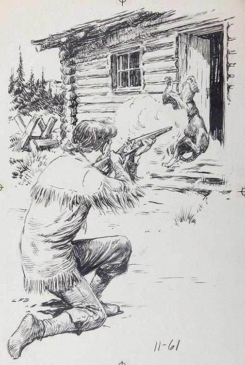 Bjorklund, Lorence (American, 1913-1978). Mountain Man