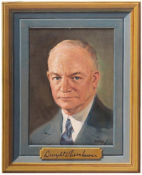 Bonhajo, Louis (American, 1885- 1972). Dwight D.