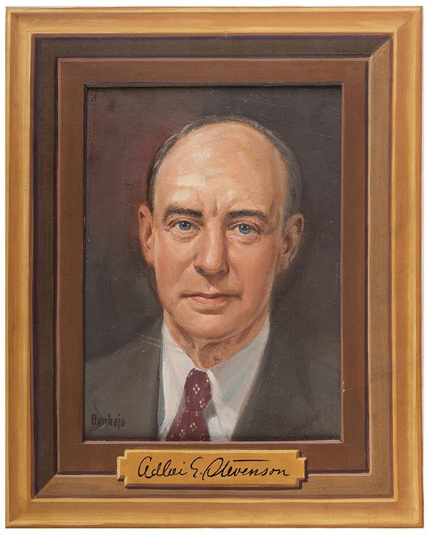 Bonhajo, Louis (American, 1885 _ 1972). Adlai E.