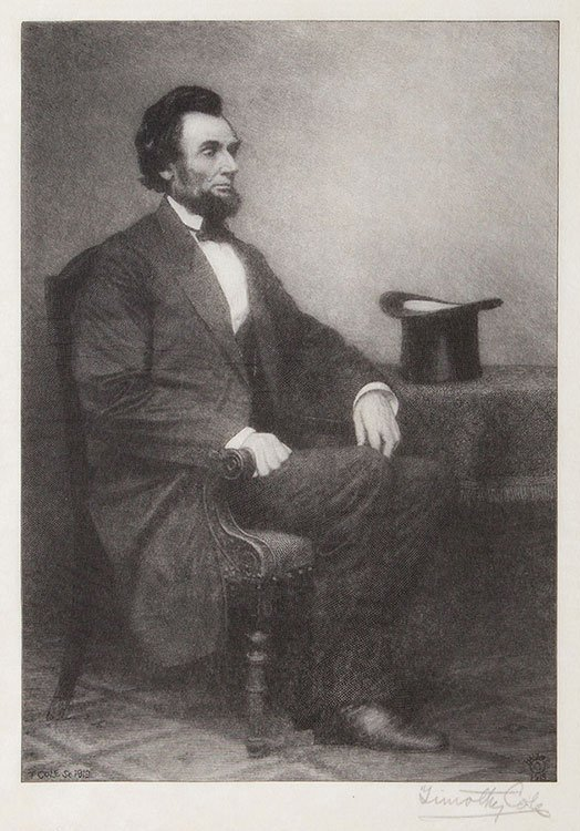 (Lincoln, Abraham) Cole, Timothy (American, 1852 _