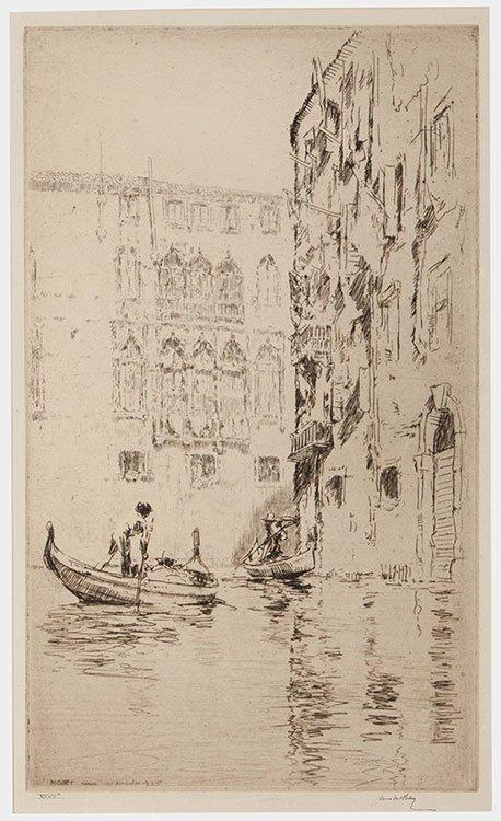McBey, James (British, 1883 _ 1959). The White Palace