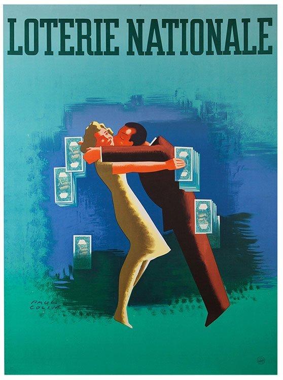 Colin, Paul. Loterie National. Paris: Alfred de Vigny,