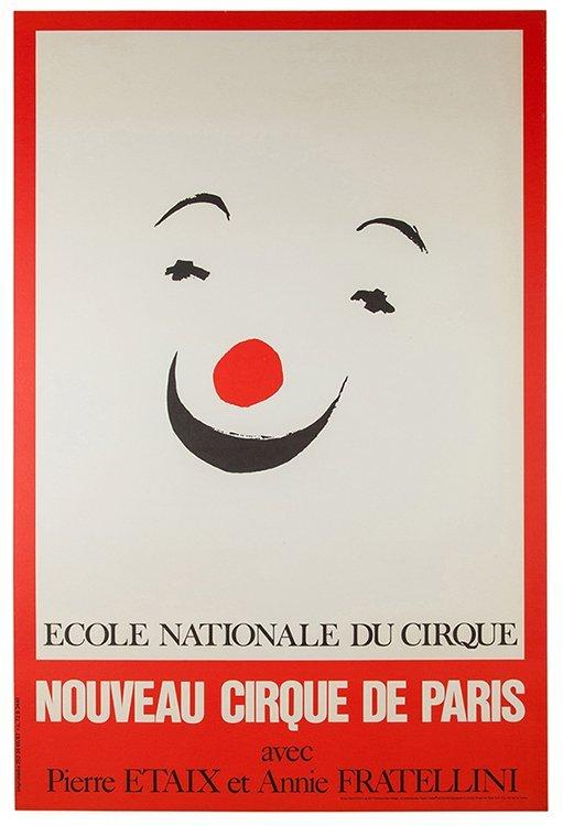 Etaix, Pierre. Ecole Nationale du Cirque. Paris: Henri