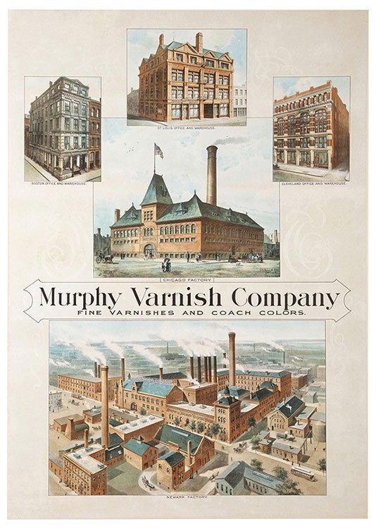 Murphy Varnish Company. Newark, ca. 1920s. Colorful