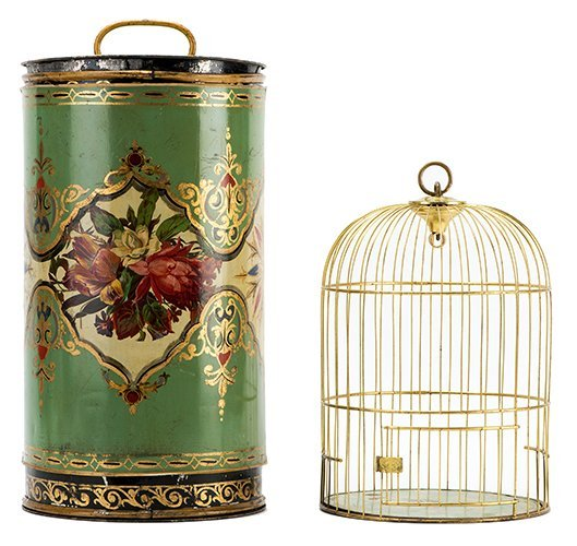 Cage Transformation. European, ca. 1870. A handsome