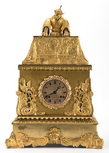 Mandarin Magician Automaton Clock. Paris: J.F. Houdin,