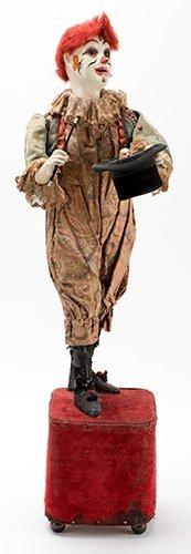 Clown Magician Automaton. Paris: Leopold Lambert, ca.