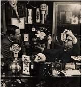 Flosso, Al (Albert Levinson). Portrait in Magic Shop.