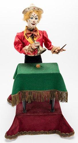 Clown Magician Musical Automaton. Paris: Leopold