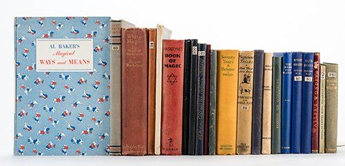 [Miscellaneous] Group of 22 Vintage Books on Conjuring.