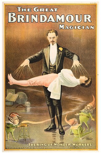 BRINDAMOUR, GEORGE. The Great Brindamour Magician. The