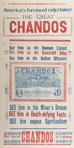 CHANDOS. America's Foremost Entertainer. Chandos.