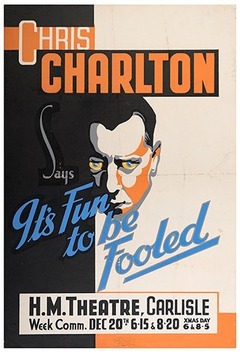 CHARLTON, CHRIS. Chris Charlton Says It's Fun to be